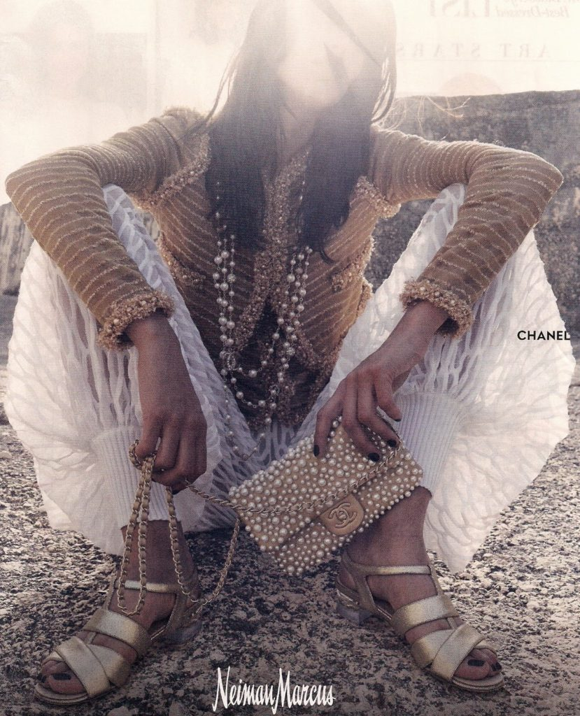 Chanel ad in Vogue, spring 2015