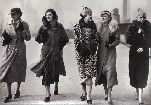 1930s street looks, Camerique/Getty Images