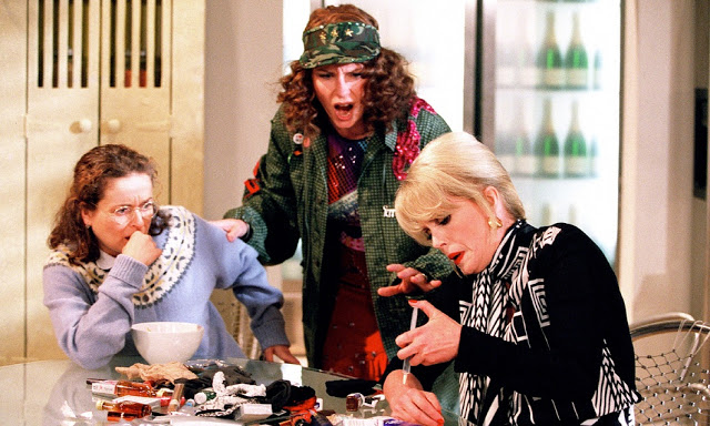 scene from Absolutely Fabulous