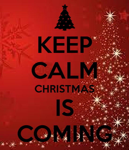 High Heels in the Wilderness: I Wish I had  River to Skate On  Keep Calm Christmas is Coming poster