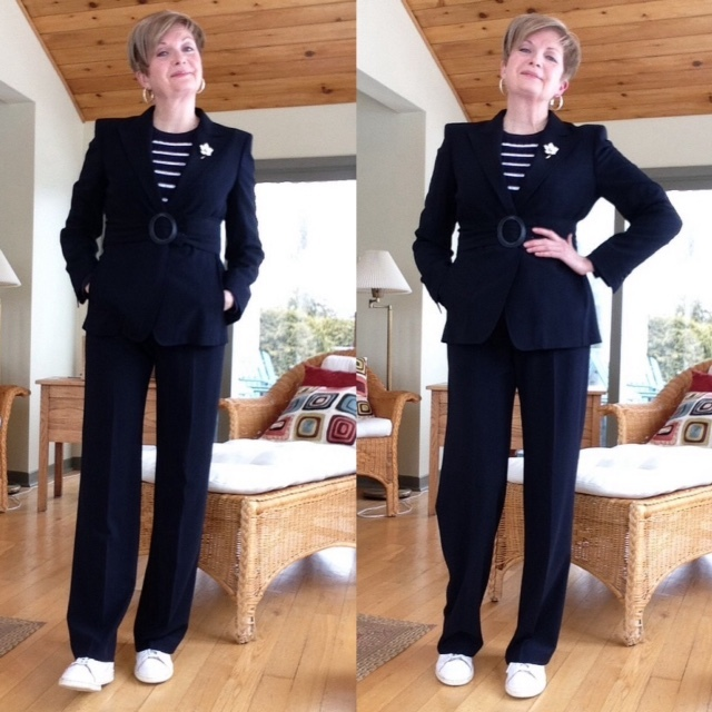 This old suit: updating my Max Mara suit from days gone by