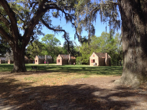 """Slave cabins"" at Boone Hall Plantation"