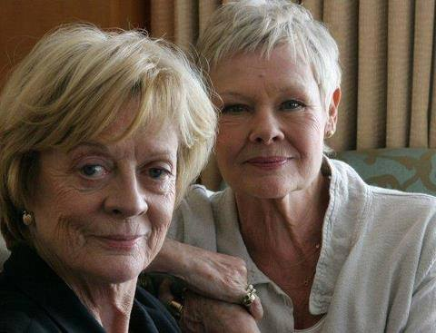 Maggie Smith and Judi Dench