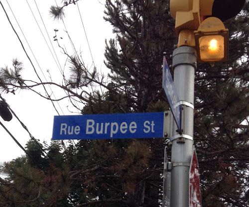 Burpee Street in Fredericton