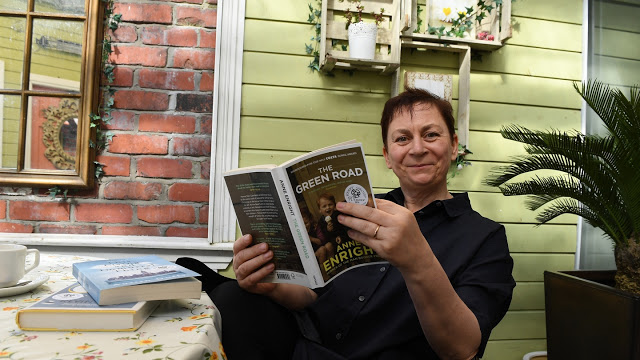 Anne Enright. Picture from The Irish Times.