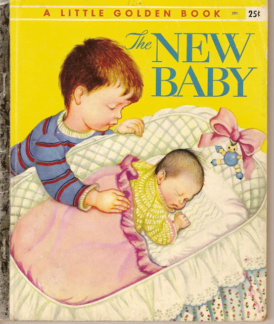 "1956 version of ""The New Baby."""