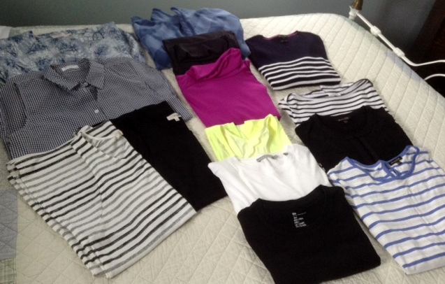 tops that I will pack for our trip to Peru and Argentina