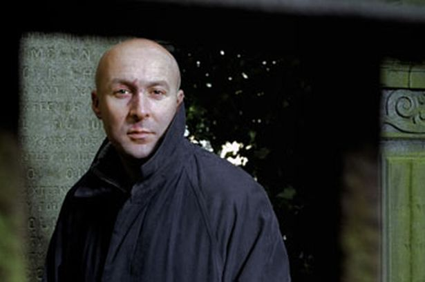 Author photo of Christopher Brookmyre from a review in the Daily Recor