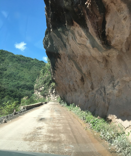 part of the road between Cachi and Salta Argentina
