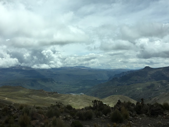 road to Chivay in Arequipa Province, Peru