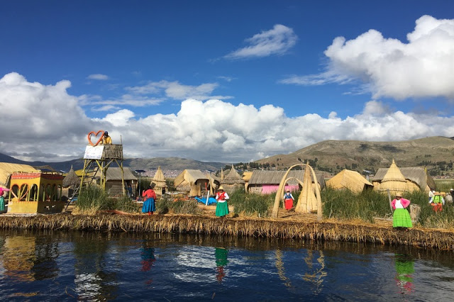 Uros Islands, Lake Titicaca, Puno, Peru