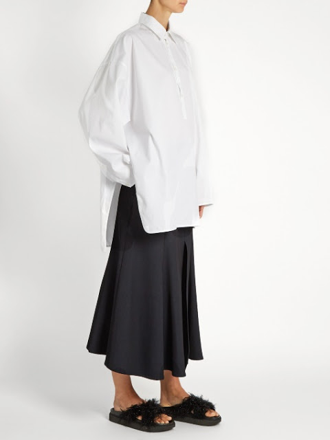black Rayey midi skirt on Matchesfashion.com