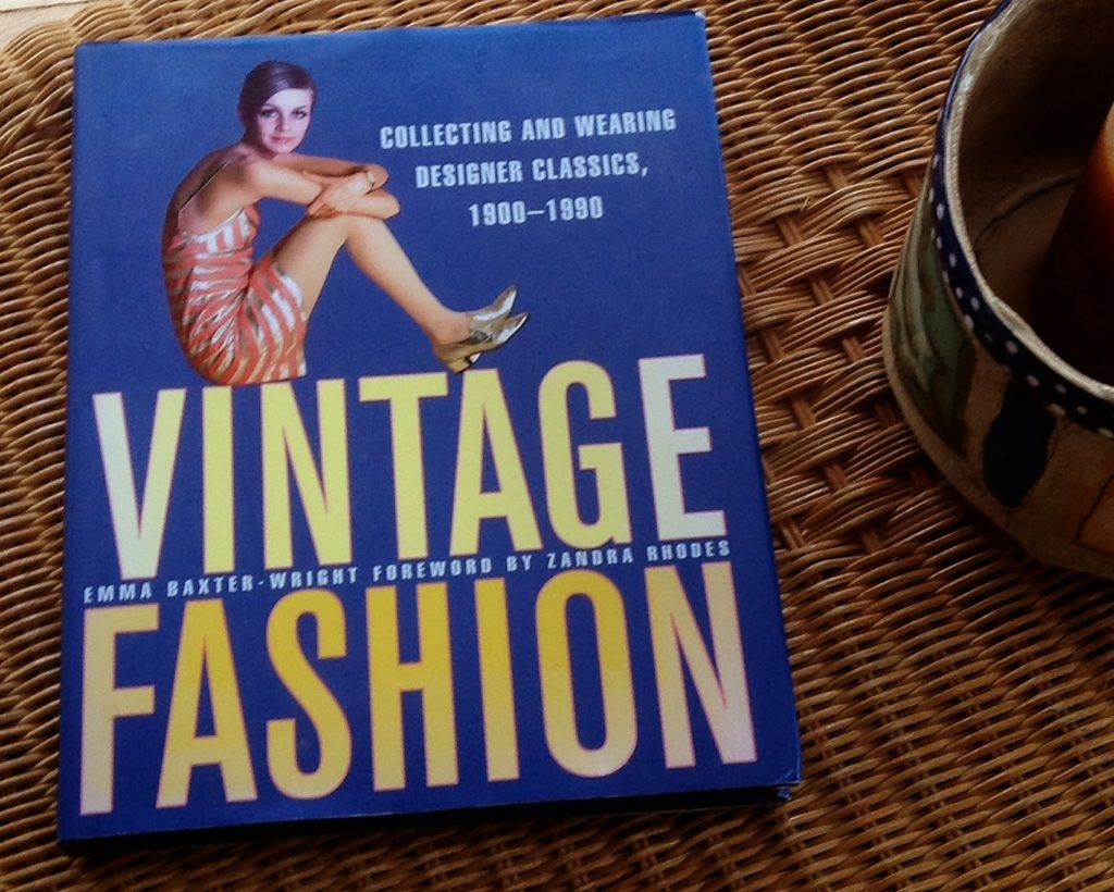 Emma Baxter-Wrights book Vintage Fashion