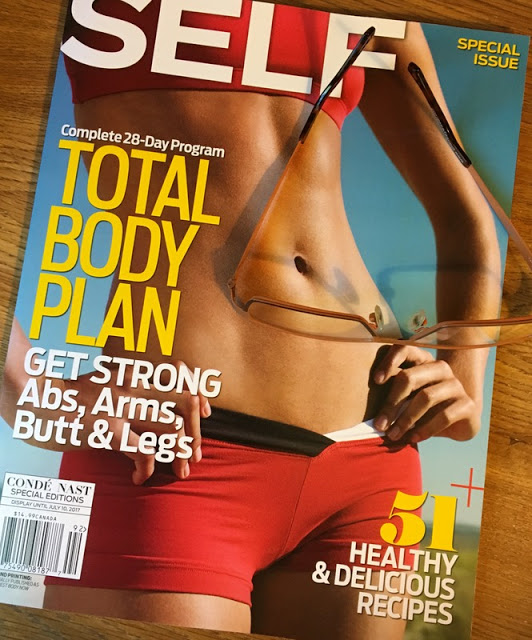 Cover of Self magazine