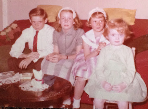 My brother and sisters and me, 1959