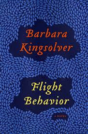 cover art for Barbara Kingsolver's Flight Behavior
