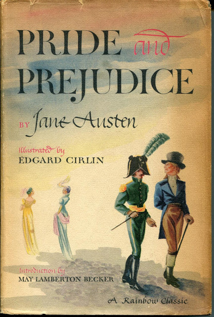 cover of the illustrated version of Pride and Prejudice