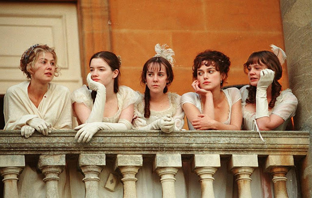 The actresses who played the Bennet sisters in the 2005 movie, Pride and Prejudice
