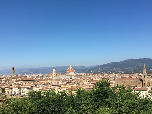 View of Florence from Piazzale Michelanglo